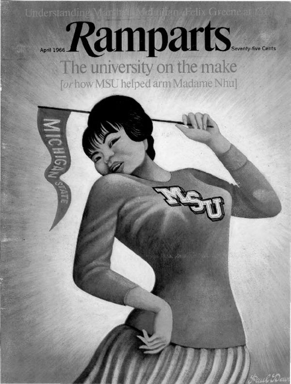 1966 : Ramparts Blows MSU's Cover Regarding Vietnam