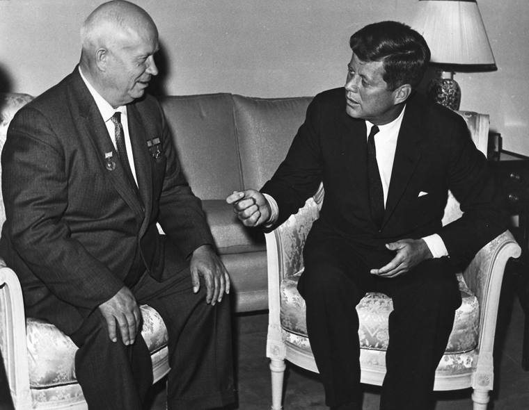Source: Photograph from the U. S. Department of State in the John F. Kennedy Presidential Library and Museum, Boston